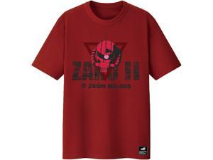 ASUS ROG T-Shirt ZAKU II EDITION Limited Edition, Short Sleeve, 100% Cotton, Reflective Glow-In-The-Dark Print, Durable Rib Crew Neck (Size L)