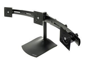 Ergotron 33-323-200 DS100 Triple-Monitor Desk Stand