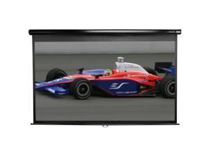 "Elitescreens Manual Series 92"" HDTV(16:9) Manual Home Cinema Manual Pull Down Projector Screen M92UWH"