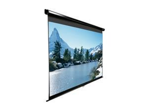 "Elitescreens HDTV(16:9) Manual Ceiling/Wall Mount Manual Pull Down Projection Screen (100"" 16:9 AR) (MaxWhite) M100UWH"