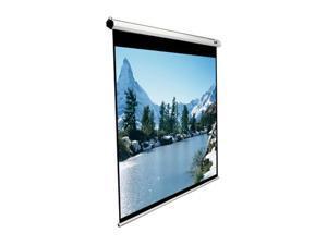 "Elitescreens 85"" Standard(1:1) Manual Manual Ceiling/Wall Mount Manual Pull Down Projection Screen (85"" 1:1 AR) (MaxWhite) M85XWS1"
