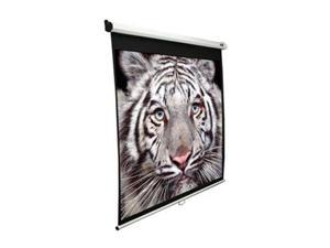 "Elitescreens 120"" NTSC/Video(4:3) Manual Manual Ceiling/Wall Mount Manual Pull Down Projection Screen (120"" 4:3 AR) (MaxWhite) M120XWV2"