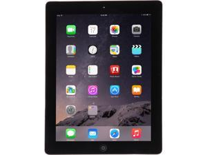 "Apple iPad 4 MD510LL/A 9.7"" Retina Touchscreen 16 GB Apple A6 1.40 GHz iOS 10 Wi-Fi Only Black (B Grade)"