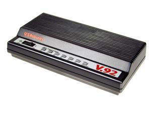 U.S. Robotics USR5686E V.92 External Fax modem 56Kbps