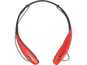 PPG Red A11-B73-3 Bluetooth Headphones with Mic in Red
