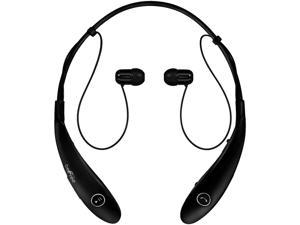 BeFree Black BHBT-7X-BLK Bluetooth Wireless Active Headphones with Microphone