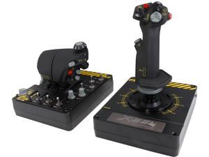 Mad Catz Saitek Pro Flight X-55 Rhino H.O.T.A.S. (Hands on Throttle and Stick) System for PC