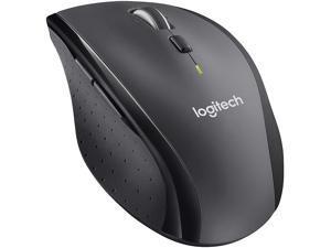 Logitech M705 910-001935 Black 7 Buttons Tilt Wheel USB RF Wireless Laser Marathon Mouse