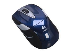 Logitech Wireless Mouse M525 - Navy / Grey