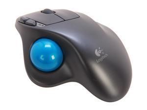 Logitech Recertified 910-001799 M570 Black 5-button 1-wheel USB RF Wireless Laser Trackball