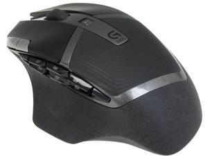 Logitech Recertified 910-003820 G602 Black RF Wireless Optical Gaming Mouse