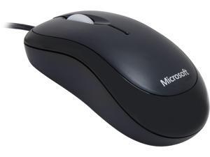 Microsoft Basic Optical Mouse - 800 dpi - Black - Wired - P58-00061