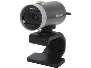 Microsoft A7270285 Lifecam Cinema 5.0 M Effective Pixels USB 2.0, Windows-compatible speakers or headphones LifeCam Cinema 720p HD Webcam