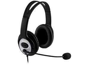 Microsoft LifeChat LX-3000 USB Connector Circumaural Headset, JUG-00016