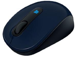 Microsoft Sculpt Mobile Mouse 43U-00011 3 Buttons 1 x Wheel USB 2.0 2.4 GHz BlueTrack Mouse