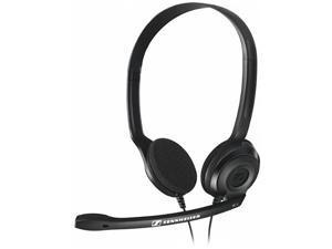 Sennheiser Black PC 3 CHAT 2 x 3.5mm for Desktop/Laptop Connector Headphone/Headset