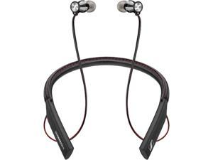 Sennheiser Black M2 IEBT Black Canal Wireless In Ear Canal Headphones with Bluetooth 4.1, AAC, Qualcomm AptX and a Nappa Leather Neckband