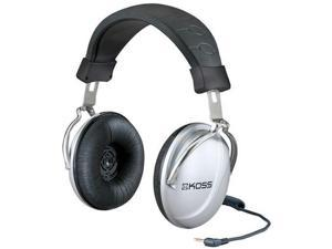 KOSS White TD85 3.5mm Connector Circumaural Full Size Headphone