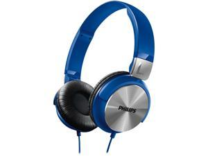 Philips SHL 3160 dynamic solid bass on ear headphone - Blue