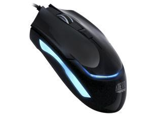 Adesso iMousesG1 Blue illuminated Ergonomic desktop USB optical mouse with 4 DPI switching