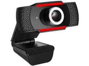 Adesso CYBERTRACK H3 USB WebCam with Built-in Microphone