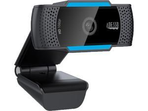 Adesso CyberTrack H5 2.1 M Effective Pixels USB 2.0 WebCam with Built-in Dual Microphone