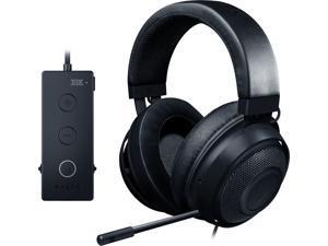 RAZER Kraken Tournament Edition: THX Spatial Audio - Customize Audio and Mic Controls - Cooling Gel-Infused Ear Cusions - Gaming Headset Works with PC, PS4, Xbox One, Switch, Mobile Devices - Black