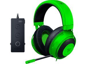 RAZER Kraken Tournament Edition: THX Spatial Audio - Customize Audio and Mic Controls - Cooling Gel-Infused Ear Cusions - Gaming Headset Works with PC, PS4, Xbox One, Switch, Mobile Devices - Green