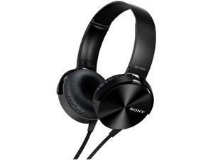 SONY Black MDRXB450AP/B EXTRA BASS w/Mic&Remote