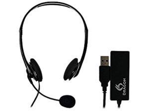 Nuance HS-GEN-C-USB Analog Headset & USB Adapter Combo
