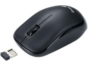 Genius Traveler 6000Z 31030023102 Black Scroll Button USB 2.4GHz Wireless Optical Optical Mouse