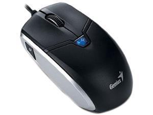 Genius Cam Mouse 31010169101 Black 4 Buttons 1 x Wheel USB Wired Mouse