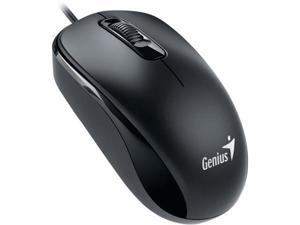 Genius DX 110 31010116100 Black 3 Buttons 1 x Wheel USB Wired Optical Mouse