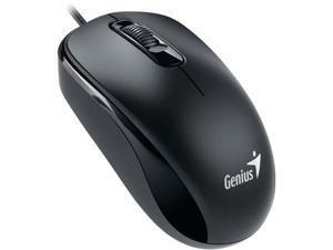 Genius DX 110 31010116106 Black 3 Buttons 1 x Wheel PS/2 Wired Optical Mouse