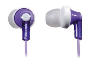 Panasonic Violet RP-HJE120-V 3.5mm Connector Canal Earbud Headphone (Violet )