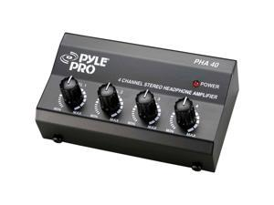 Pyle Pro PHA40 Heapones 4 Channel Amplifier