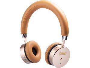 Rosewill RW-TH68N Metallic On-Ear Bluetooth Active Noise Cancelling Headphones | Rechargeable with up to 16 Hours of Playtime | 33 feet Range and 40mm Driver