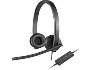 Logitech H570E Stereo Headset (981-000574)