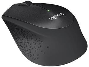 Logitech M330 SILENT PLUS 910-004905 Black 3 Buttons 1 x Wheel RF RF Wireless Optical Mouse