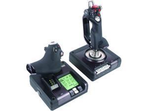 Logitech X52 G Saitek X52 Pro Flight Control System