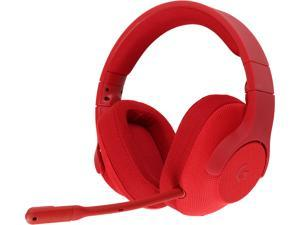 Logitech 981-000650 G433 7.1 Wired Gaming Headset with DTS Headphone: X 7.1 Surround for PC, PS4, PS4 PRO, Xbox One, Xbox One S, Nintendo Switch - Red