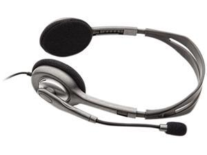 Logitech H110 3.5mm Connector Supra-aural Stereo Headset