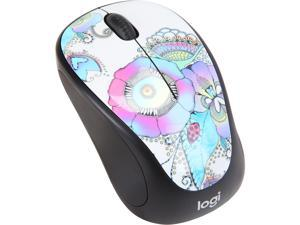 Logitech M317c Wireless Mouse Art Collection - Lady on the Lily