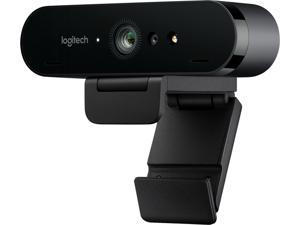 Logitech 960-001106 BRIO Ultra HD Webcam for Video Conferencing, Streaming, and Recording USB 3.0 WebCam