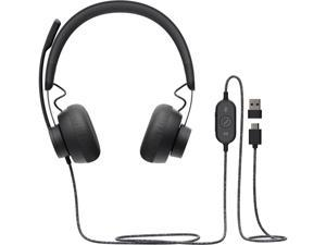 Logitech Zone Wired 981-000876 USB Connector Headset