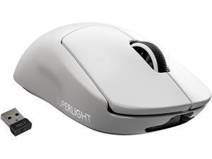 Logitech PRO X 910-005940 White 5 Buttons 1 x Wheel Lightspeed Wireless Optical SUPERLIGHT Gaming Mouse