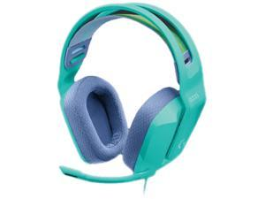 Logitech - G335 Wired Stereo Gaming Headset for PC, PS 4/5,Xbox One, Xbox Series X|S, & Nintendo Switch with Flip to Mute Microphone - Mint
