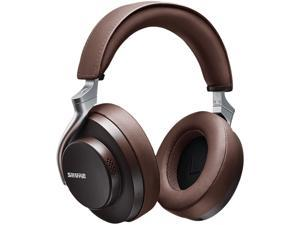 Shure AONIC 50 (SBH2350-BR) Premium Wireless Noise Cancelling Headphones (Brown)