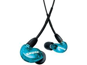 SHURE AONIC 215 Sound Isolating Earphones with UNI Communication Cable (Blue)