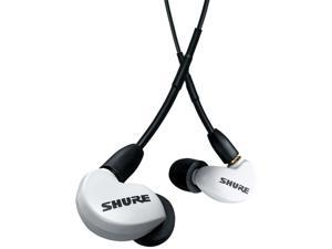 SHURE AONIC 215 Sound Isolating Earphones with UNI Communication Cable (White)
